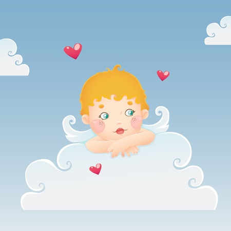 Cupid for Valentines Day Stock Vector - 12159404