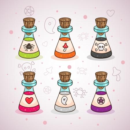 magic mushroom: Halloween potions