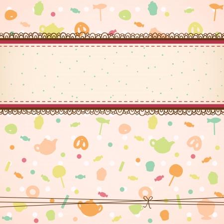ntilde: Tea party background