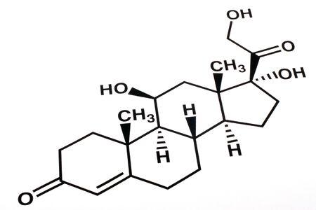 Chemical formula on white background Stock Photo - 7843899