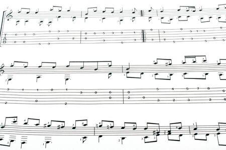 Music notation elements Stock Photo - 7844075
