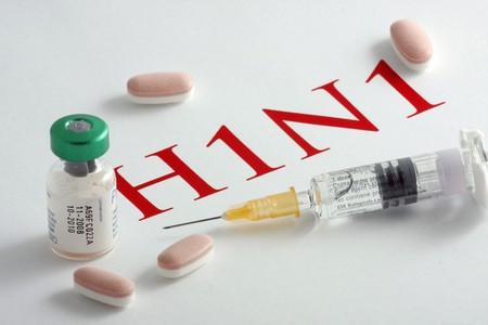 Im�genes de los virus de Influenza H1N1  Foto de archivo - 7845671
