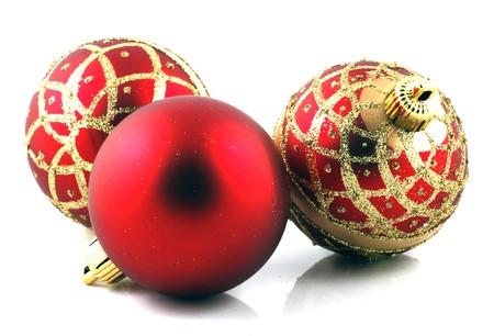 Christmas decoration on white background Stock Photo - 8168402