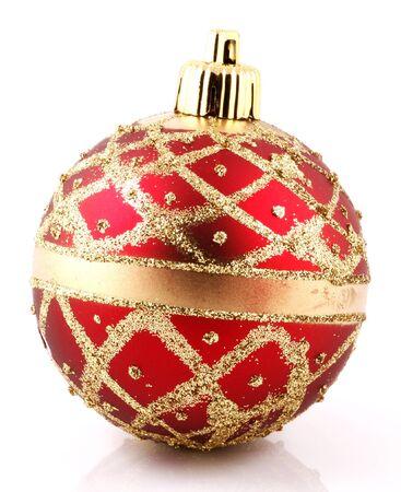 Christmas decoration on white background Stock Photo - 8168408