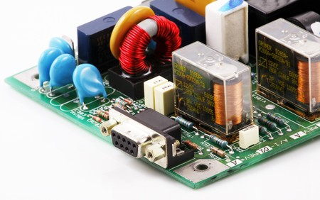 Image of computer hardware & components Stock Photo - 8223076