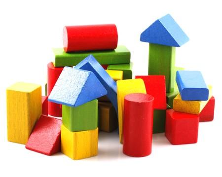 infancy: Wooden Building Blocks