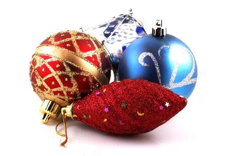 christmas decoration baubles photo