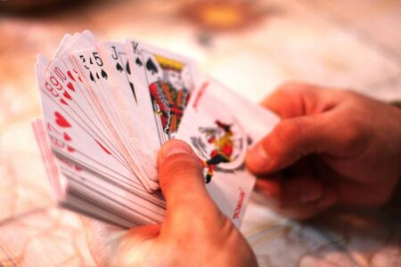 playing cards Stock Photo - 8372098