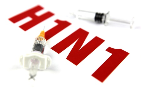 swine flu vaccination: Images of the H1N1 Influenza Virus