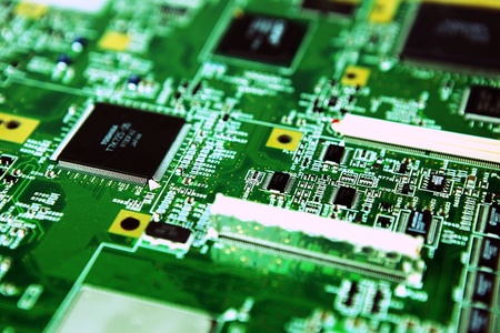 Image of computer hardware & components Stock Photo - 8742143