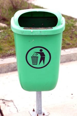 Trash Bin Stock Photo - 9274592