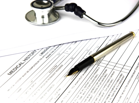 a diagnosis: Medical prescription