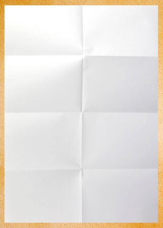 crease: Paper Stock Photo