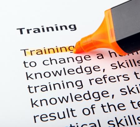 tanulás: Képzés