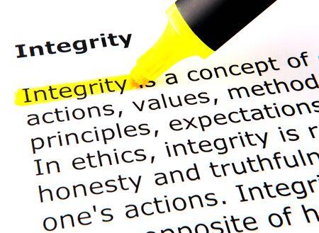 onestà: Integrit�