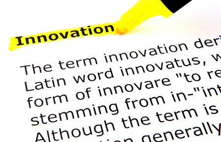 breaking new ground: Innovation Stock Photo