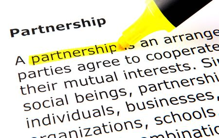definitions: Partnership