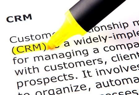 CRM Stock Photo - 10356009