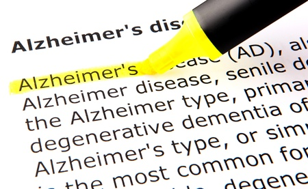 definition define: Alzheimer