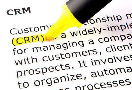 CRM Stock Photo - 10393549