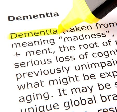 enfermedades mentales: Demencia