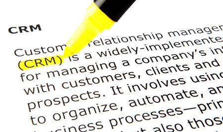 CRM - Customer relationship management Stock Photo - 10522178