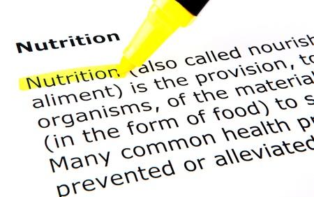 Nutrition Stock Photo