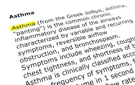 asthma photo