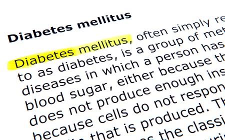 mellitus: Diabete mellito Archivio Fotografico