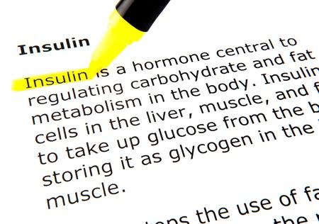 Insulin Stock Photo - 10719654
