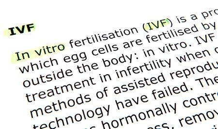 In vitro fertilisation (IVF) photo