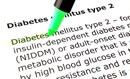 mellitus: Diabete mellito di tipo 2 Archivio Fotografico