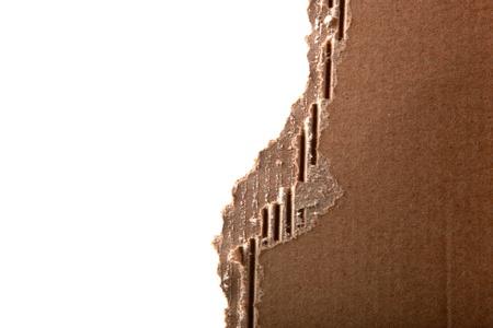 Corrugated cardboard photo