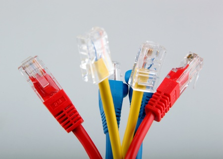 Ethernet network cables photo