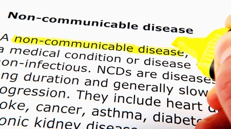 Non-communicable disease photo