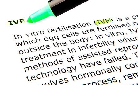 male sperm: IVF