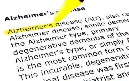 aging brain: Alzheimers disease