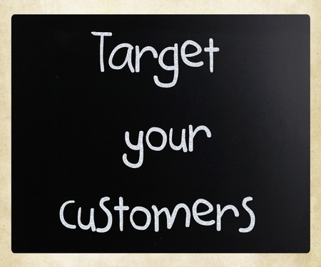 Target your customers photo