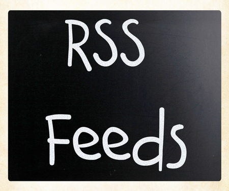 RSS Feeds Stock Photo - 13124614