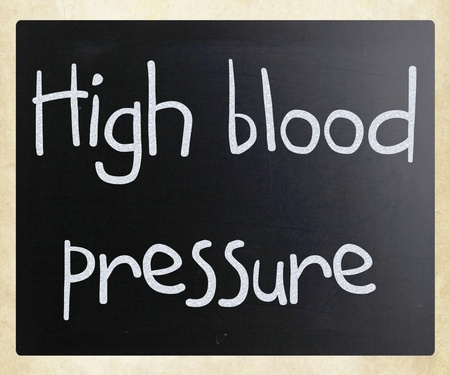 High blood pressure Stock Photo - 13124646
