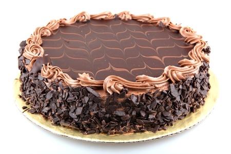 slice cake: Torta al cioccolato