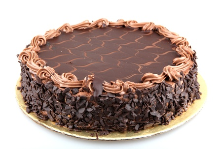 Pastel de chocolate photo