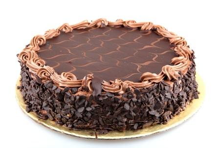 trozo de pastel: Pastel de chocolate