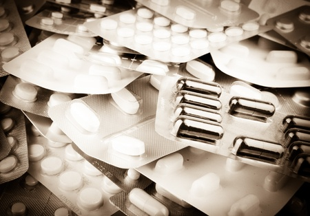 Packs of pills Stock Photo - 13277245