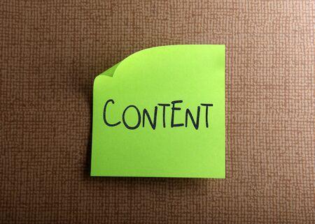 Content Stock Photo - 13640582