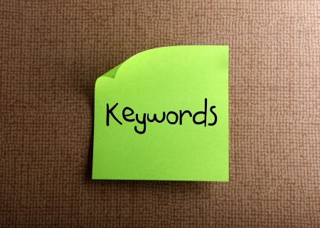keywords: Keywords