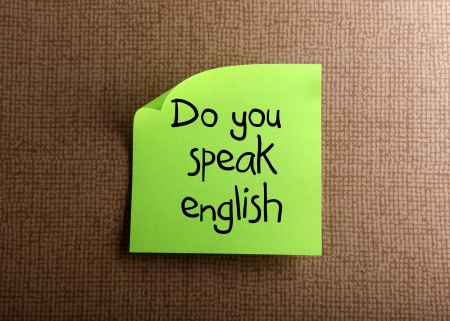 Do you speak english photo
