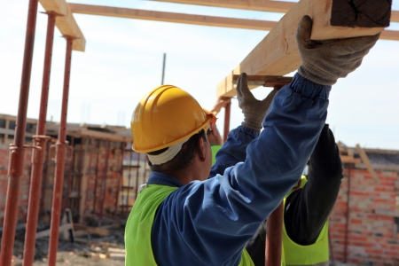 mcgraw: Construction site. Stock Photo