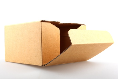 Concept image of ,think outside the box. photo