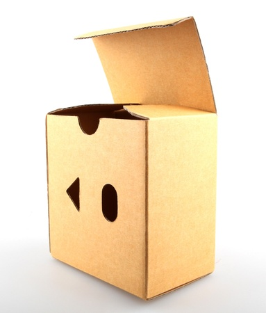 Concept image of ,think outside the box photo